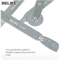 RELIFE RL-060 Disassembly Set Ultra-thin 1.0mm Thickness Metric Feeler Range Finder for iPhone Android Edge Remove Repair Tools
