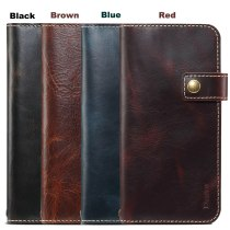 For Apple iPhone 13 2021 Real Leather Case iPhone12 Mini Flip Cover Wallet Strap Book Shell iPhone 12 Pro Max 11 Xs X Xr 7 8 SE