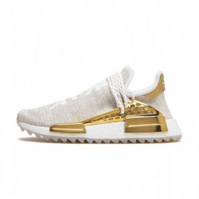 half off b8a7e 07320 Pharrell Williams X Adidas NMD Hu  China  Gold F99762
