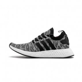 1f2c6a002 OG Adidas NMD R2 Primeknit Core Black Running White BY9409