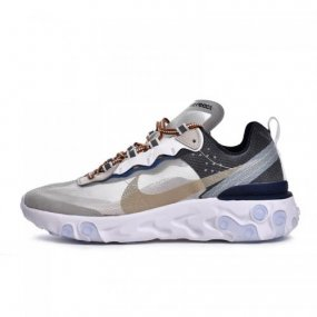 6290d7ce618c UA NIKE EPIC REACT ELEMENT 87 X UNDERCOVER Army GreenNavy-White AQ1813-341