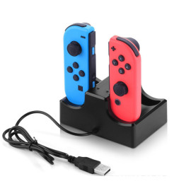 IPLAY new Nintendo switch charger Gamepad charging stand 4 in 1 small handle charger base