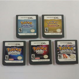 Nintendo 3DS NDSi NDS Game Card Pokemon Platinum Pearl Diamond Gintama Gold Heart