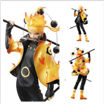 Whirlwind Naruto Garage Kits 22cm Six Fairies Model Doll PVC Toy