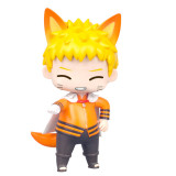 Naruto Figure Toys Q style Uzumaki Naruto Naruto's Blogger Garage Kit PVC Model Doll Collection