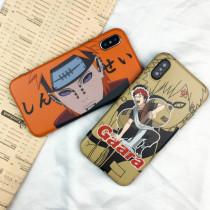 Naruto Paine Gaara iPhone case Cartoon Animal iPhone 7 8 plus X XR XsMax Protective Cover