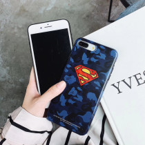 Marvel Superman Batman iPhone Case iPhone X XS MAX XR 7 8 Plus Cover Phone accessories