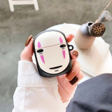 3D Spirited Away Airpods Case No Face Man Apple Airpods 1/2 Protection Cover