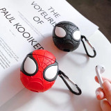 3D Marvel Spider Man Airpods Case Soft Tpu Shockproof Apple Earphone Case Cover
