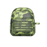 Camouflage Apple wireless Bluetooth Airpods2 case Three-level package silicone protective cover
