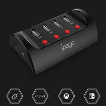 Switch  PS4  XBOXONE host mouse and keyboard converter wired handle converter