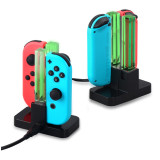 Switch gamepad charger card type colorful lighting Nintendo joy-con accessories