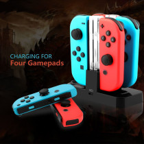 Nintendo switch game controller four-seater charger NS PRO handle charging base