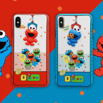 Sesame Street Apple IphoneX Case Silicone Soft Shell