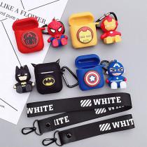Spiderman Airpods Wireless Bluetooth Headset Case Anti-lost