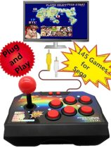 Plug and Play Retro TV Video Arcade Game Console Joystick Console with 145 Different Games