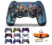 2Pcs Fortress Night Sticker For Sony PlayStation4 Game Controller For PS4 Skin Stickers