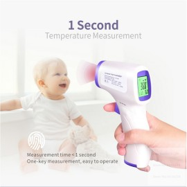 Non Contact Digital Thermometer Infrared Temperature Gun Accurate Instant Readings Fever Temperature Measure Tool
