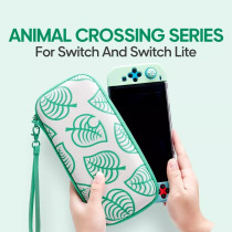 Animal Crossing New Horizons Aloha Edition Carrying Case for Nintendo Switch Lite