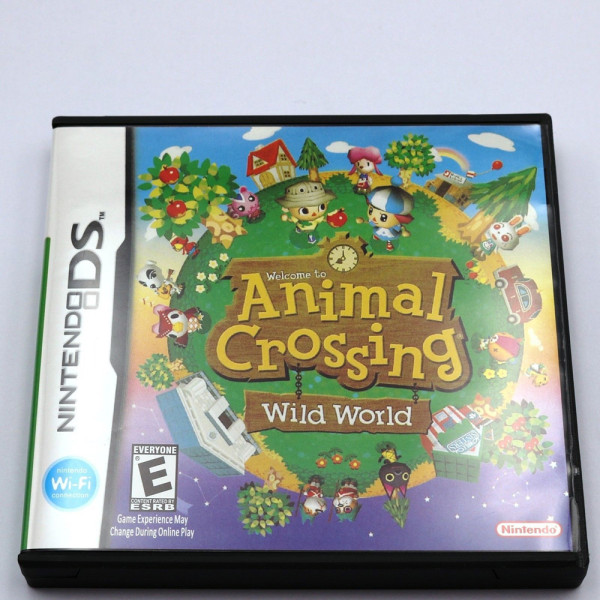 Animal Crossing Wild World DS Game Cartridge Console Card for Nintendo DS 3DS 2DS