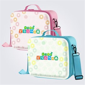 Animal Crossing Nintend Switch Big Storage PU Protective Hard Carrying Bag Waterproof Shock Shell