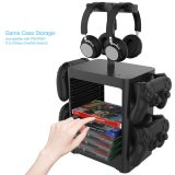 PS5 PS4 Nintend Switch Console Game CD Disc Joycon Pro Controller Holder storage bracket Tower