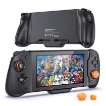 Nintend Switch Joycon Controller Handle Grip Gamepad Built-in 6-Axis Gyro