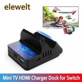 Nintendo Switch Charger Dock HDMI Adapter 4K HD TV Video Converter Game Console Charger Base