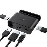 Nintendo Switch HDMI Transfer TV Portable Type-C Charging Base Video Converter