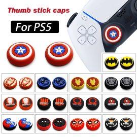 PS5 2PCS Thumb Grip Caps XBOXONE Playstation5 NS Switch Pro Controller Joystick Caps