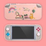 Switch Lite Soft Silicone Case Colorful Cute Protective Back Cover for NS Switch lite