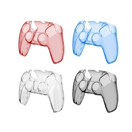 Sony PS5 Anti-slip Transparent Hard handle Protective Case Play Station5 Controller Cover