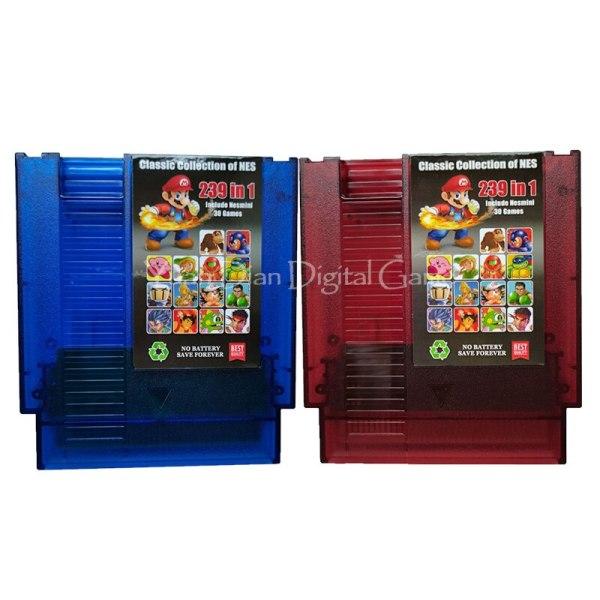 Nintendo 72 Pins 8 Bit Video Game Cartridge Console Card Super 239 in 1 English Language US/EU Universal Version