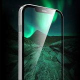 Magnetische Hülle Kompatibel mit iPhone 12/12 Pro, Transparente Magnetic Hülle mit Doppelseitigem Gehärtetem Panzerglas, 360 Grad Magnet Schutzhülle Kompatibel mit iPhone 12/12 Pro 6.1  [Silber]