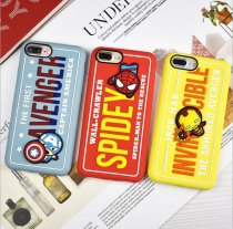 Avengers Mobile Phone Case Soft Shell Spider-Man Iron Man