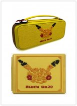 Nintendo NS switch Pikachu 20th Anniversary Storage bag Storage box Stand bag Pet Elf theme