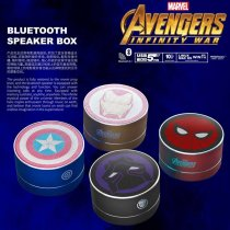 Marvel genuine Bluetooth car stereoThe Avengers iron man card computer subwoofer