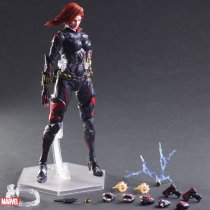 Avengers Black Widow Action Figure Marvel Garage Kit GK PVC Model Doll toy