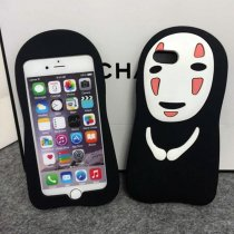 3D Spirited Away iPhone case No Face Male soft silicone iPhone X XS MAX XR 7 8 Plus Cover