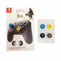 Zelda Silicone Grips Caps Nintend Switch NS JoyCon Controller Sticks Cap SkinDL536