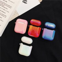 colorful water drop Airpods case Apple wireless Bluetooth headset creative anti-fall shell