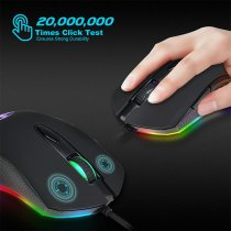 Game mouse light wired mouse fashion esports computer game accessories