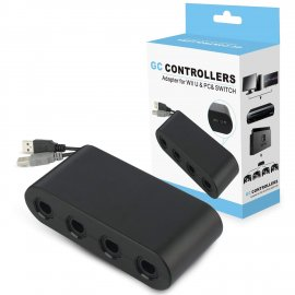 Wii U Gamecube Controller Adapter,YTEAM Gamecube NGC Controller Adapter for Wii U,Nintendo Switch and PC USB
