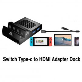 COOV SH500 Pro Portable Type-C To HDMI Switch Replacement Dock