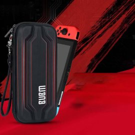 Nintendo Switch Travel Carrying Protective Travel Bag 20 Game Card Slots Shock-Proof Storage bag