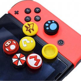 Nintendo NS Switch Rocker Cap Joy-Con Silicone Case FOR Switch Pro Rocker Cover Protective Cap