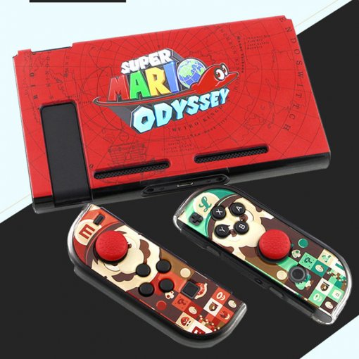 Mario Spiderman Nintend Switch Ns Colorful Game Theme Protective Case