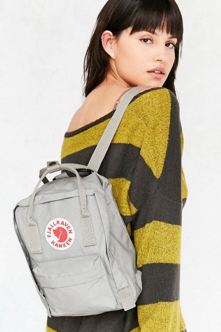 fjallraven kanken backpacks / ivory