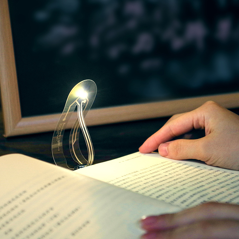 Creative Simple Easy Light LED Bookmark Light