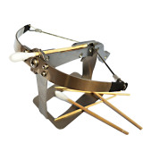 Creative DIY Mini Metal Toothpick Crossbow